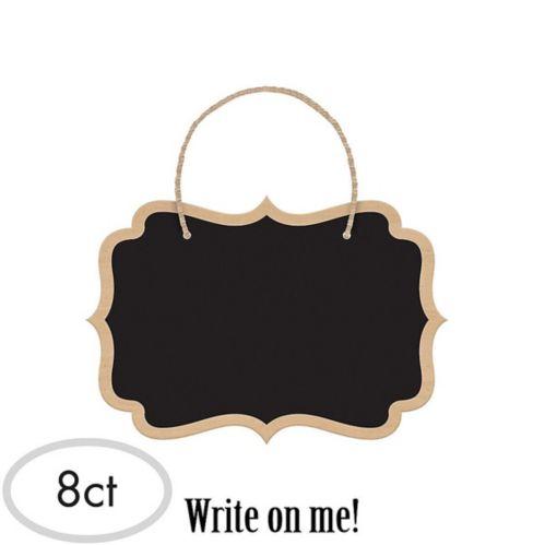 Affiches tableau noir, paq. de 8 Image de l'article