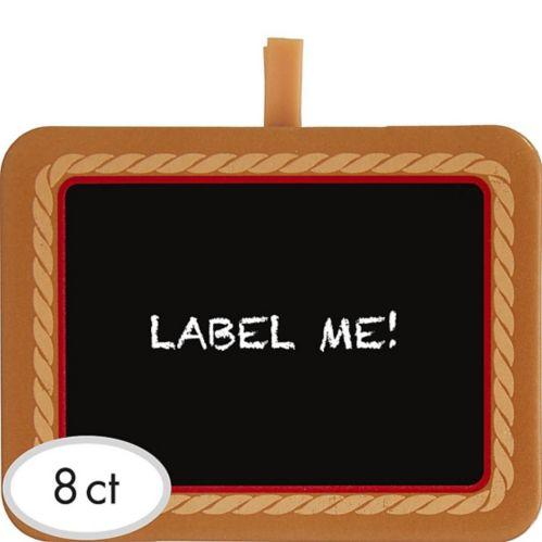 Yeehaw Western Chalkboard Clips, 8-pk Product image