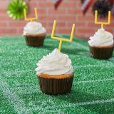 Décorations à petits gâteaux sur cure-dents poteau de but, paq. de 36