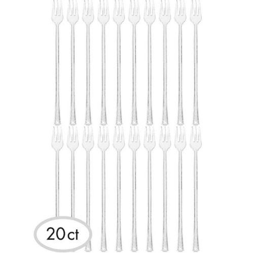 Mini Long Plastic Fork