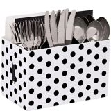 Polka Dot Utensil Caddy