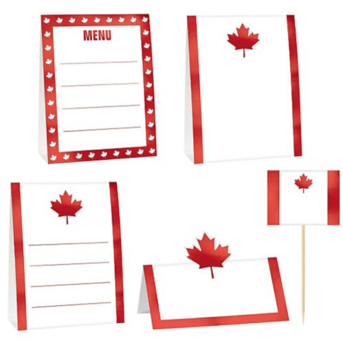 Canada Buffet Decorating Kit, 12-pc