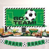 Goal Getter Soccer Buffet Decorating Kit, 10-pc