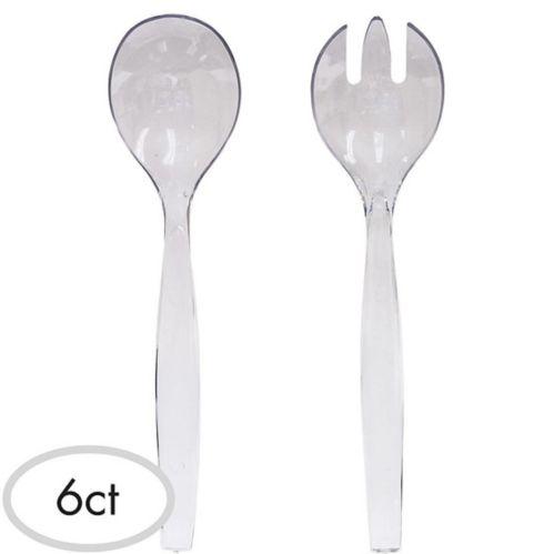 Plastic Serving Spoons, 6-pk