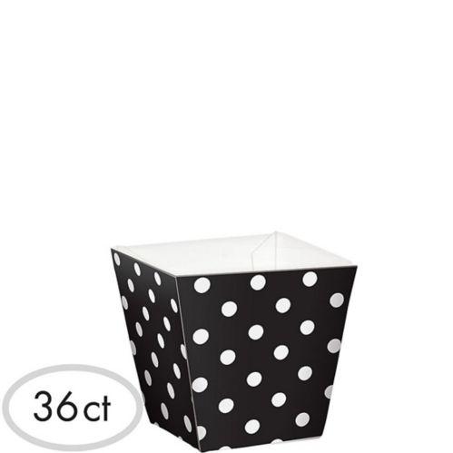 Mini bols cubiques à pois, paq. de 36