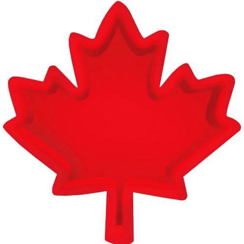 Canadian Maple Leaf Serving Tray