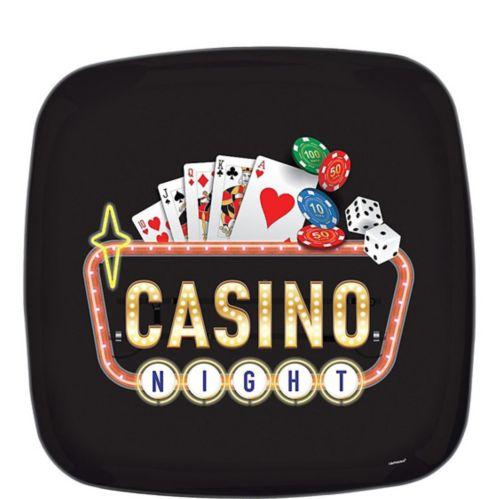 Plateau carré Lancer de dés au casino