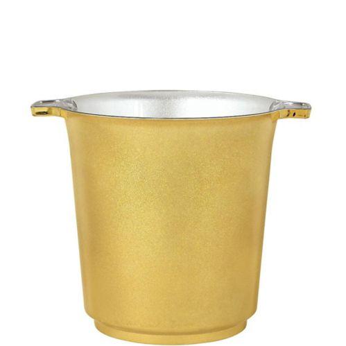 Metallic Gold Ice Bucket