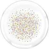 Rainbow Confetti Round Platter