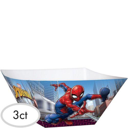 Bols de service Spider-Man, paq. 3