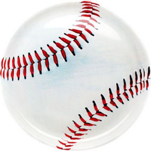 Round Baseball Platter