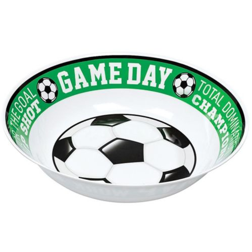 Goal Getter Game Day Soccer Serving Bowl