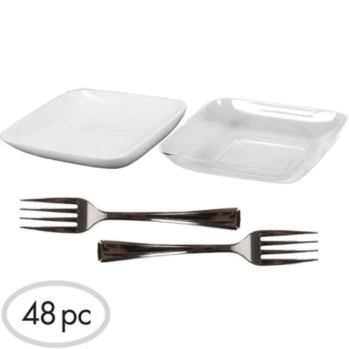 Appetizer Combo Set, 48-pc