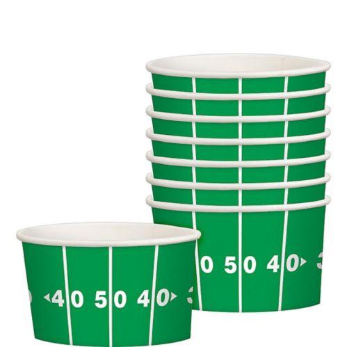 Football Field Treat Cups, 8-pk