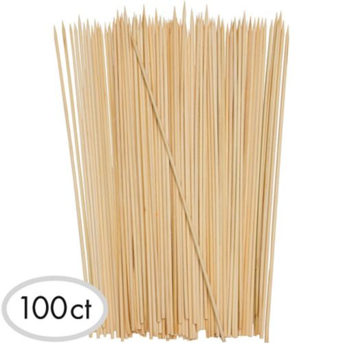 Bamboo Skewers, 12-in, 100-pk Product image