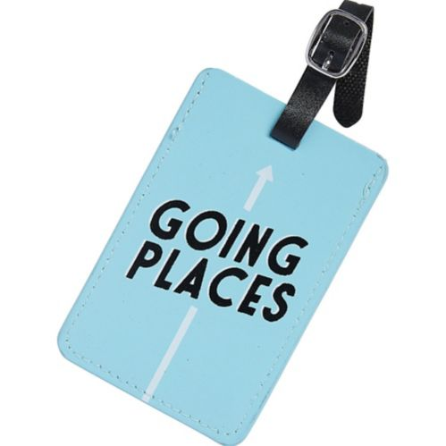 Going Places Luggage Tag