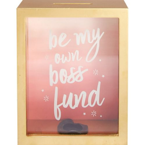 Be My Own Boss Coin Box