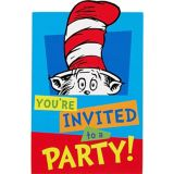 Invitations Dr. Seuss, paq. 8