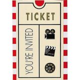 Clapboard Hollywood Invitations, 8-pk