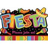 Fiesta Fun Invitatoins, 8-ct