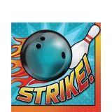 Bowling Lunch Napkins, 16-pk