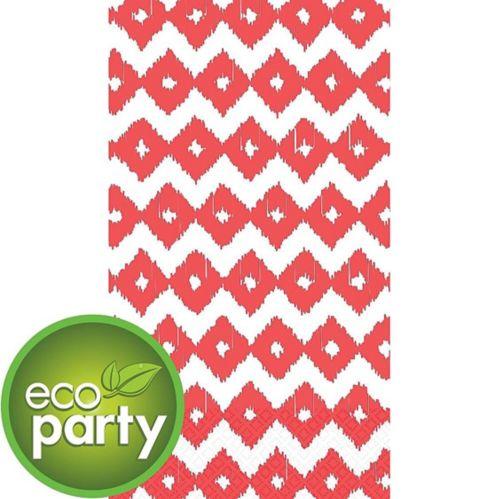 Coral Diamond Guest Towels, 16-pk