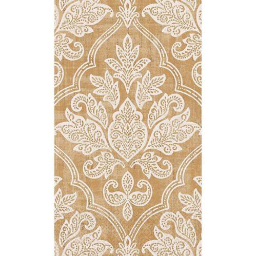 Gold Damask Guest Towels, 16-pk