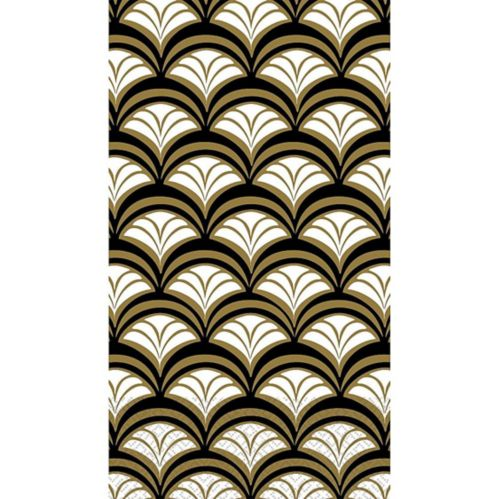 Gold Scalloped Guest Towels, 16-pk