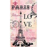 Essuie-mains d'invité Paris Love, paq. 16