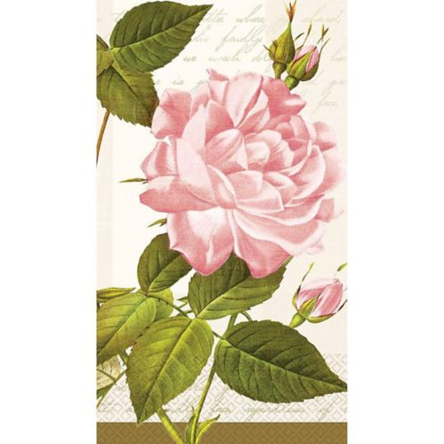 Vintage Rose Guest Towels, 16-pk Product image