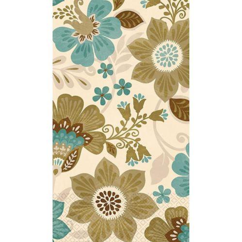 Jacobean Guest Towels, 16-pk
