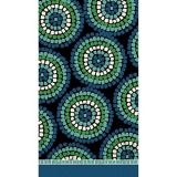 Round Mosaic Guest Towels, 16-pk