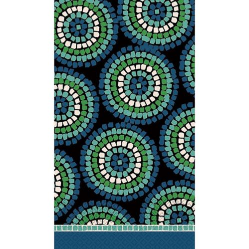 Round Mosaic Guest Towels, 16-pk Product image