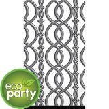 Grey Chain Elegant Eco Guest Towels, 16-pk