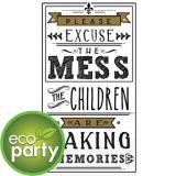 Serviettes écologiques pour invités, souvenirs, paq. 16