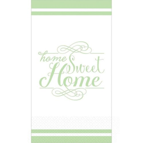 Spring Green Sweet Home Premium Guest Towels, 16-pk