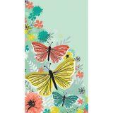 Bright Butterflies Guest Towels, 16-pk