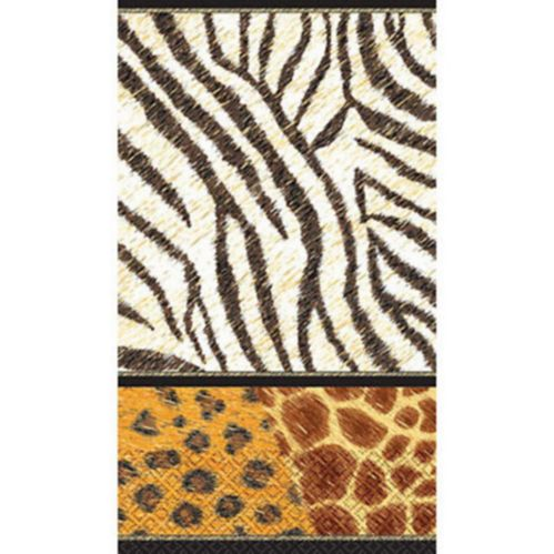 Animal Print Guest Towels, 16-pk Product image