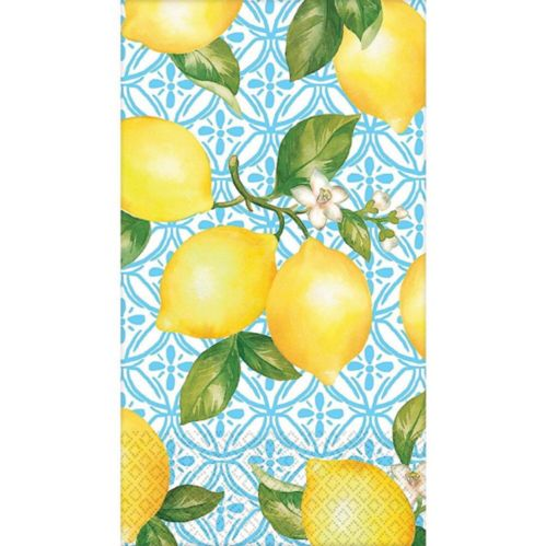 Lemon Fresh Eco Guest Towels, 16-pk