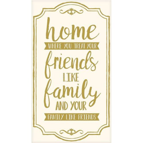 Home, Friends & Family Premium Guest Towels, 16-pk