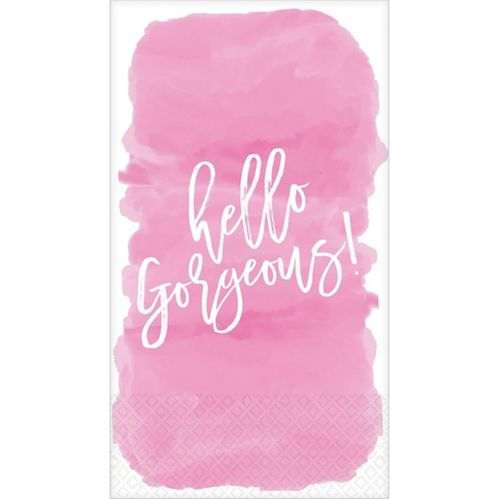 Hello Gorgeous Guest Towels, 16-pk Product image