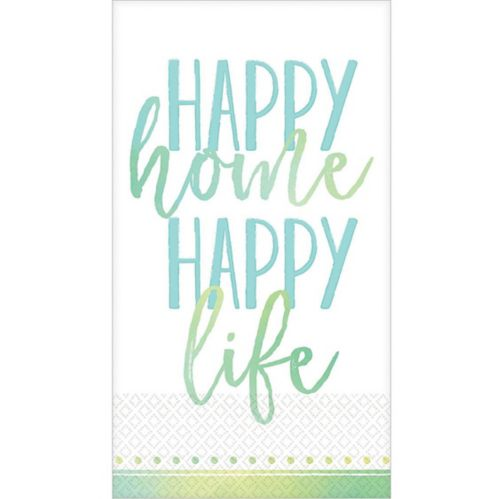 Happy Home Guest Towels, 16-pk Product image