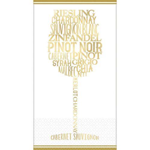 Wine Lover Premium Guest Towels, 16-pk