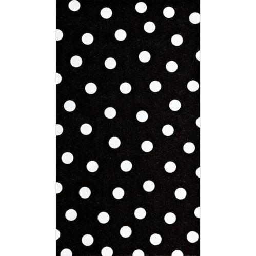 Black and White Guest Towels, 16-pk