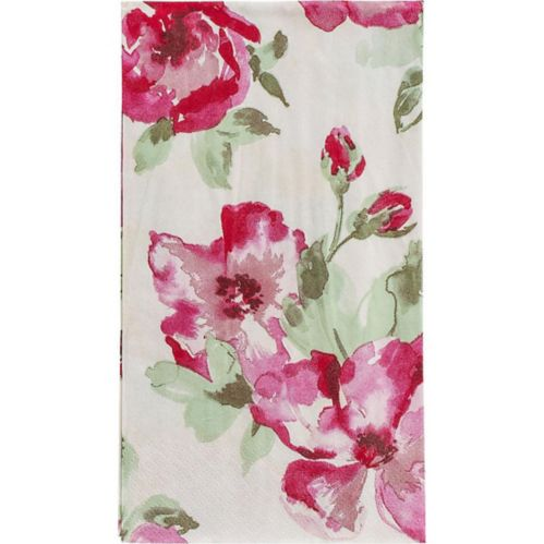 English Rose Guest Towels, 16-pk