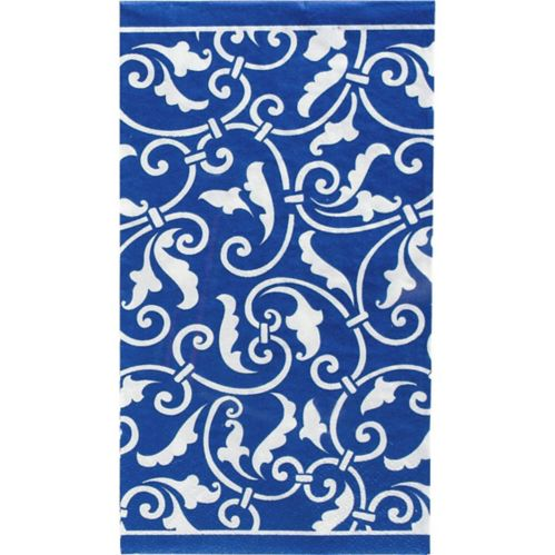 Royal Blue Guest Towels, 16-pk