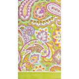 Multicolour Paisley Guest Towels, 16-pk