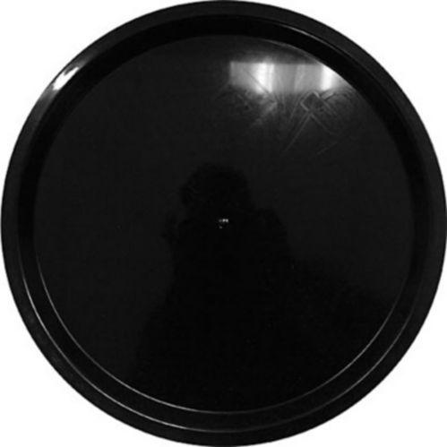 Plateau rond, noir, 18 po Image de l'article