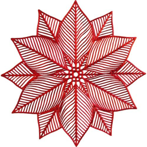 Vinyl Poinsettia Placemat Product image