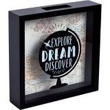 Explore Dream Discover Coin Box